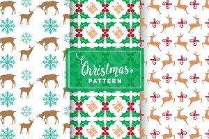 Christmas Vector Patterns #18