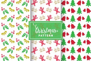 Christmas Vector Patterns #19