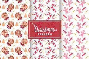 Christmas Vector Patterns #21