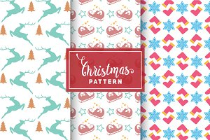 Christmas Vector Patterns #22