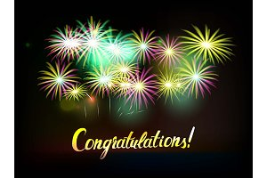 Congratulations! 8 Gretting cards