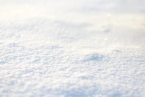 Fresh winter snow background