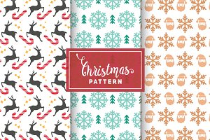 Christmas Vector Patterns #24