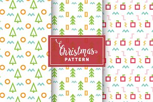 Christmas Vector Patterns #25