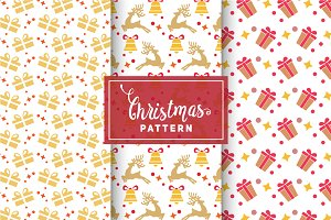 Christmas Vector Patterns #26