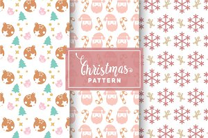 Christmas Vector Patterns #30