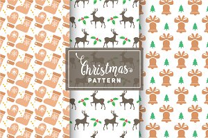 Christmas Vector Patterns #31