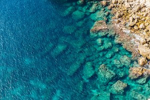 Crystal clear blue waters of Malta