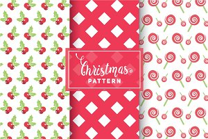 Christmas Vector Patterns #33