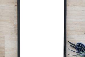 Mobile phone mockup