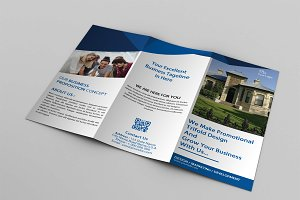 Real Estate Trifold Brochure V760