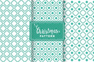 Christmas Vector Patterns #35