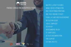 Agora - Financial WordPress Theme