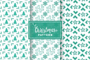 Christmas Vector Patterns #37