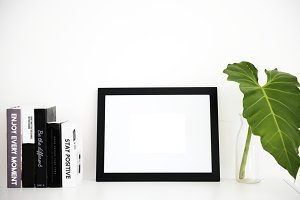 Photo frame mockup (PNG)