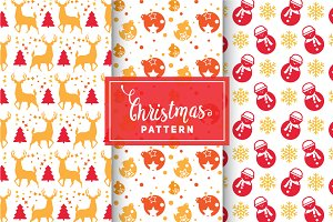 Christmas Vector Patterns #36