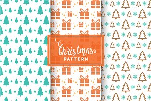 Christmas Vector Patterns #38