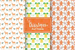 Christmas Vector Patterns #39