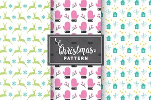 Christmas Vector Patterns #40