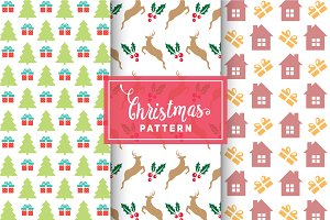Christmas Vector Patterns #42
