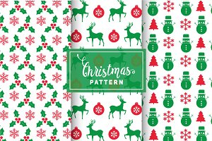 Christmas Vector Patterns #43