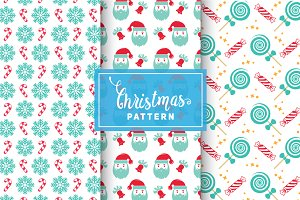 Christmas Vector Patterns #44