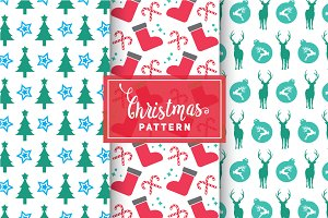 Christmas Vector Patterns #45