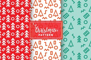 Christmas Vector Patterns #49