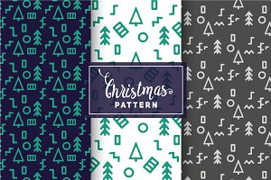 Christmas Vector Patterns #50