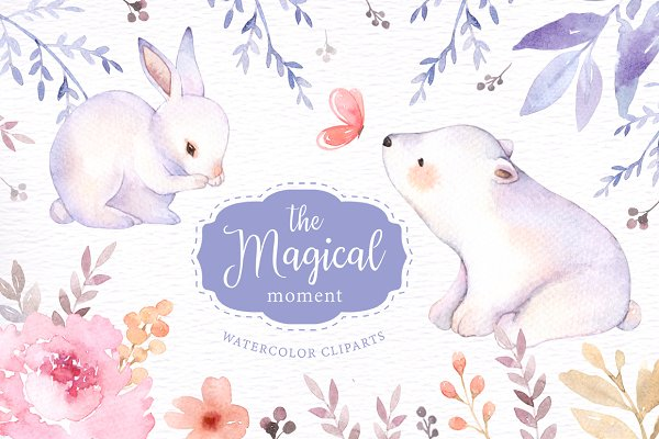 The Magical Moment Watercolor Set