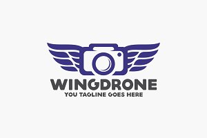 Wing Drone Logo