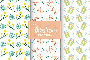 Christmas Vector Patterns #52