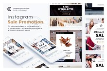 Sale Promotion Instagram Template