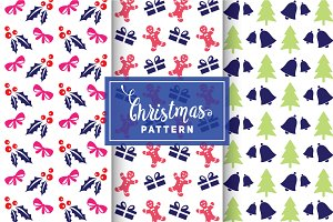 Christmas Vector Patterns #54