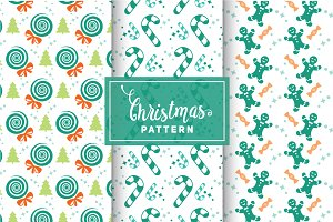 Christmas Vector Patterns #56