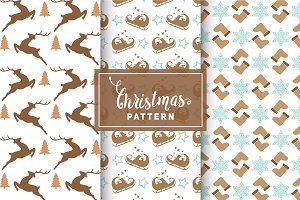 Christmas Vector Patterns #57