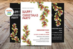 Happy Christmas Flyer Template