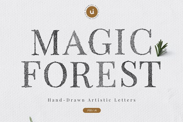 Magic Forest Typeface