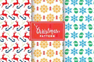 Christmas Vector Patterns #59