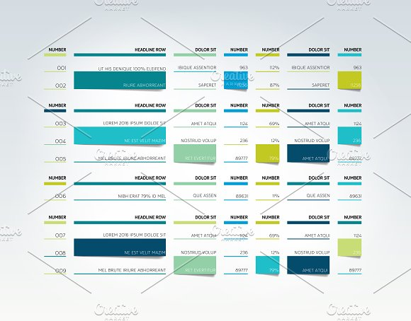 Table Schedule Tab Planner