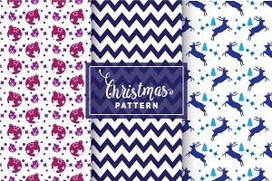 Christmas Vector Patterns #62