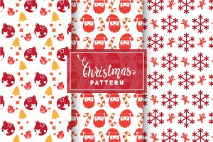 Christmas Vector Patterns #65