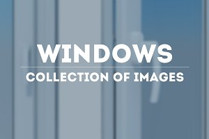 Windows. Collection of image