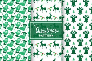 Christmas Vector Patterns #66