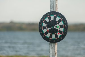 darts at the nature