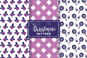 Christmas Vector Patterns #68