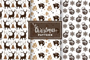 Christmas Vector Patterns #71