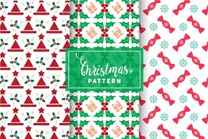 Christmas Vector Patterns #73