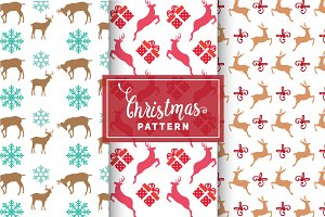 Christmas Vector Patterns #74