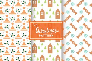 Christmas Vector Patterns #75